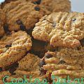 Cookies au beurre de cacahuète dakatine {fin de la pause}