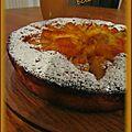 Gâteau pommes-rhum