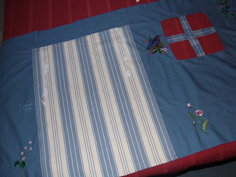 Pour faire une cabane sous le lit superpos le blog de cousette - Rideaux pour lit cabane ...