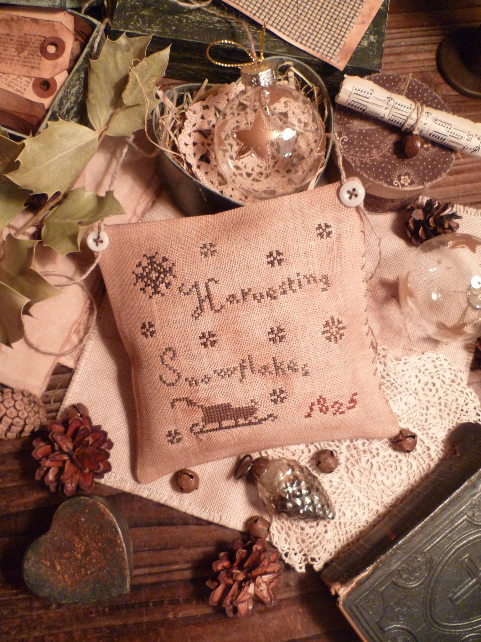 Harvesting Snowflakes US$ 8.00