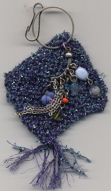 Bijou de sac ,tricoté