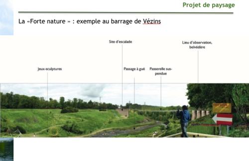 projet valorisation vallée barrage Sélune barrage de Vezins
