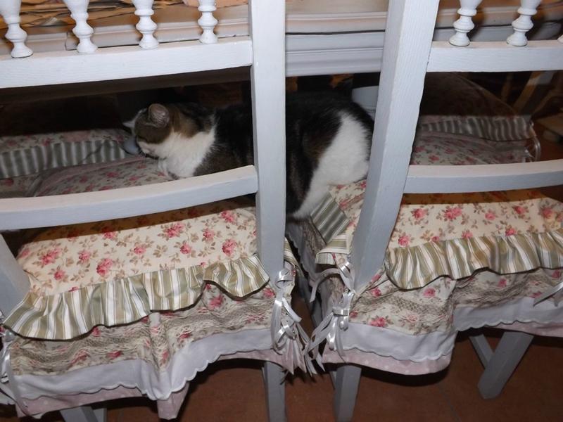 Froufrous calinquette for Galette de chaise avec rabat