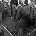 Prague, Josefov, cimetière juif