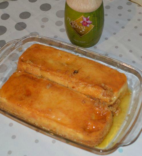 Flan coco facon cake