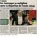 Necrologie Francis Leloup