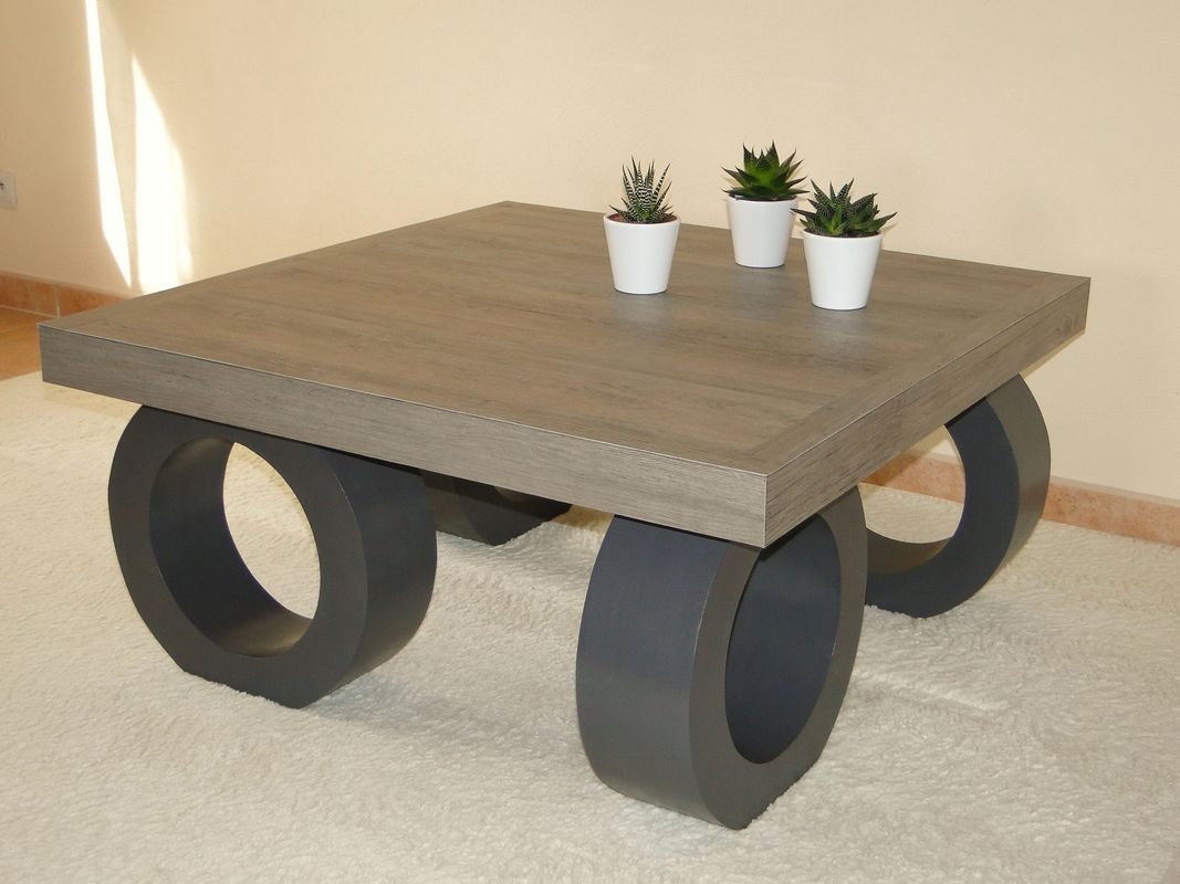 Table basse design album photos meubles en carton la cr ath que de nadine - Table basse en carton ...