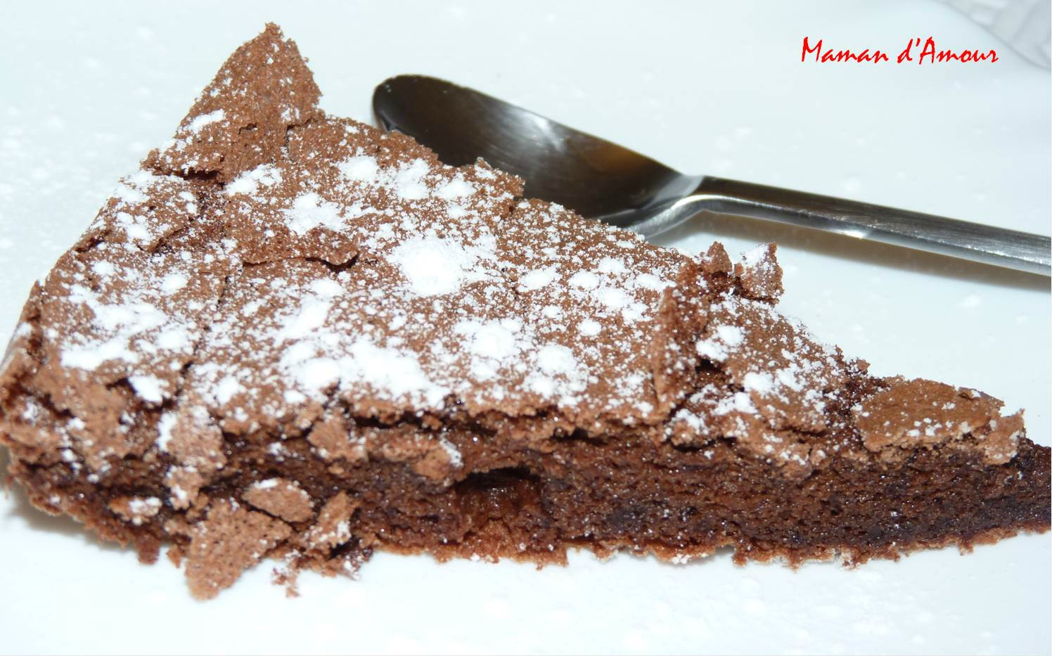 Gateau au chocolat sans farine fondant et ultra l ger ma maman d 39 amour - Gateau au chocolat sans farine ...