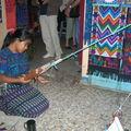 Tissage Guatemalteque
