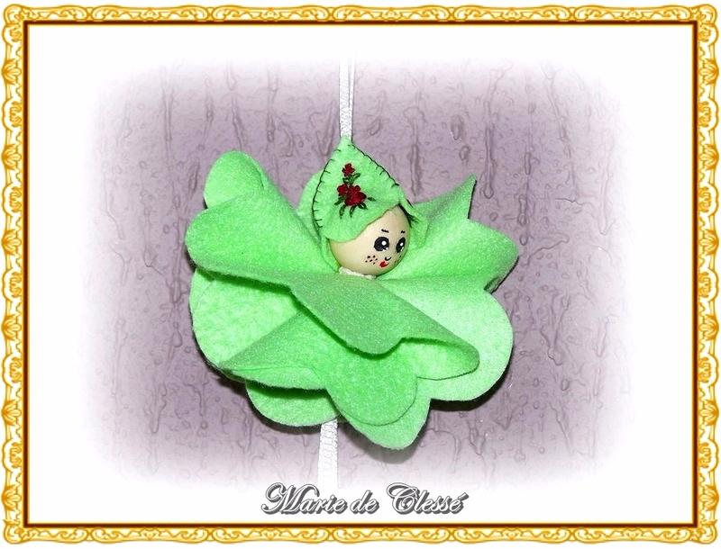Petit Lutin (Feutrine) Fleur Carillon 4