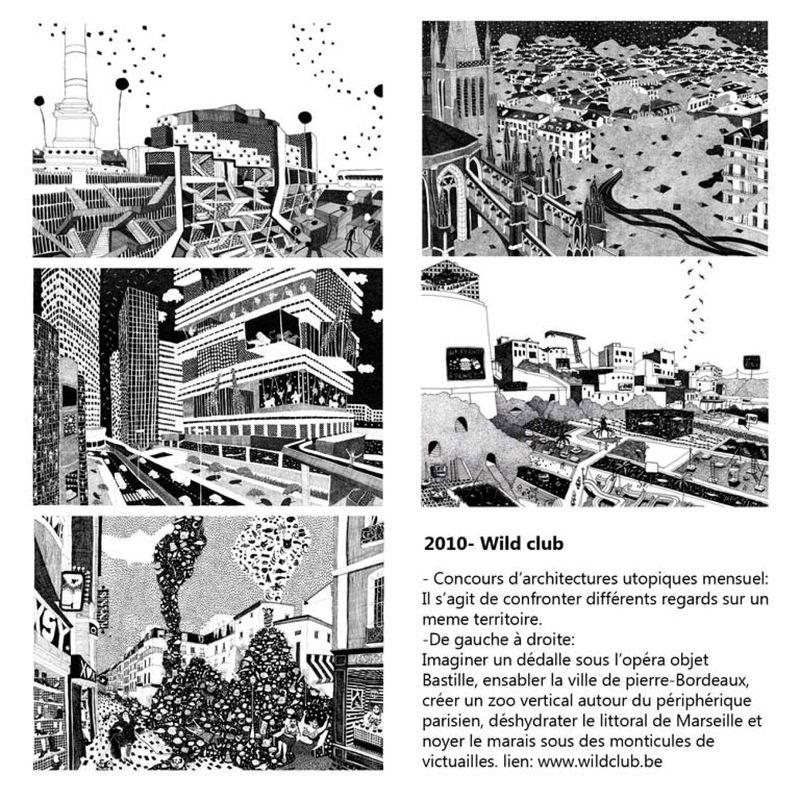 Le wildclub concours d 39 architecture utopique diane berg for Architecture utopique nomade