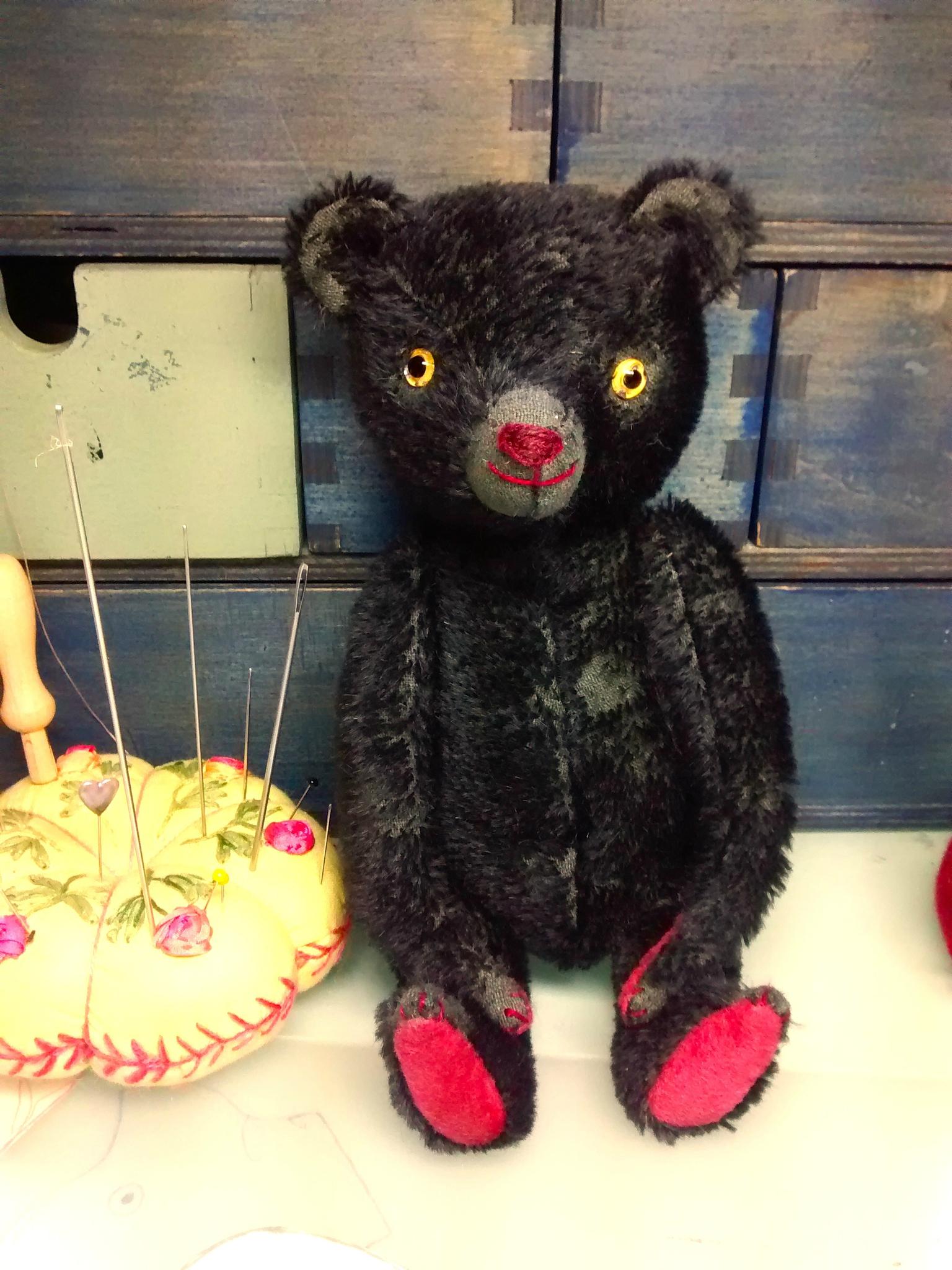 New black bear, Bert