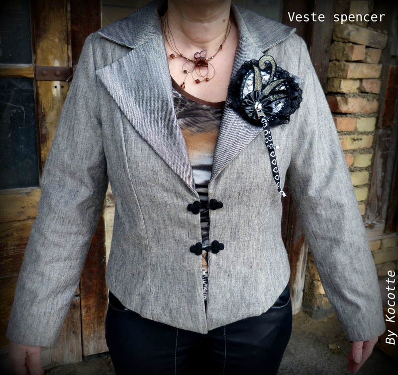 veste spencer