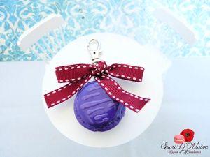 Bijoux de sac macaron mure (4)