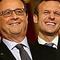 Macron le soutien fatal! hollande