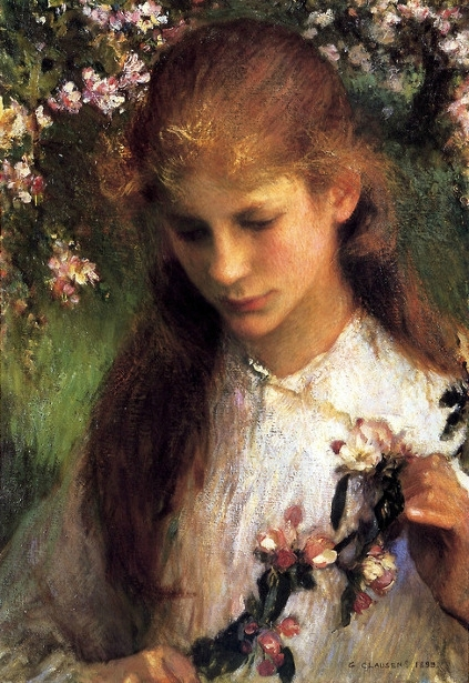 Georges Clausen apple-blossom