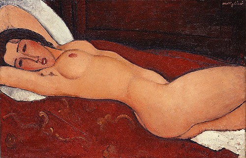 Amedeo Modigliani - Nu