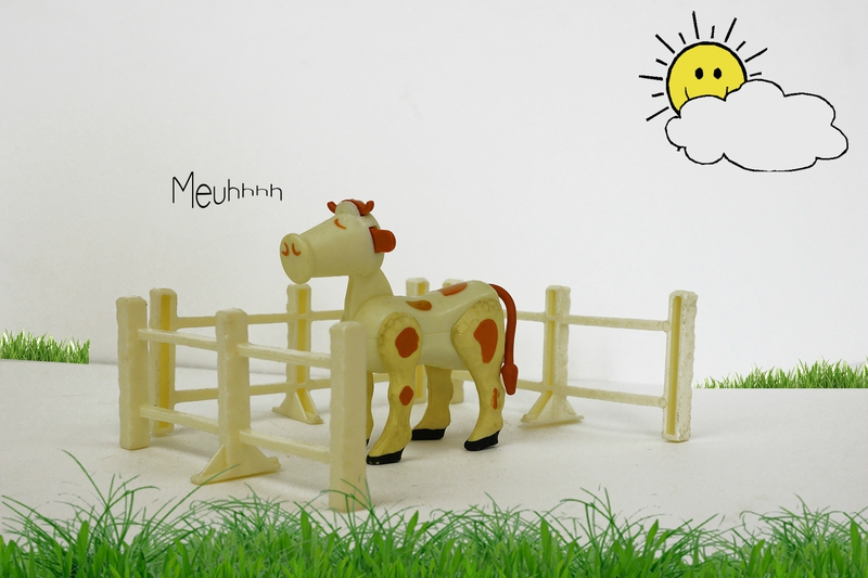 La vache et son enclos Fisher Price