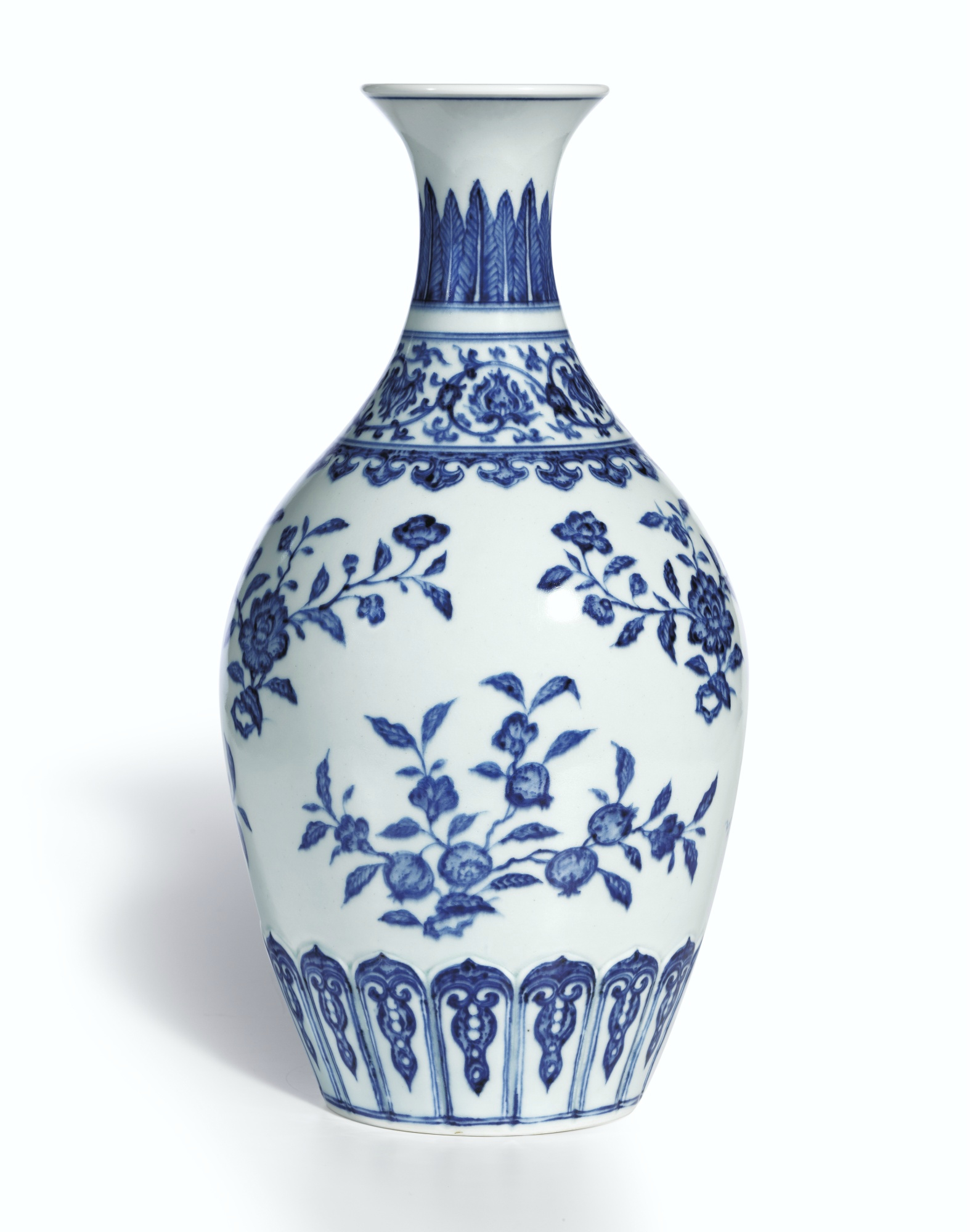 Ming vases lessons tes teach a superb ming style blue and white vase mark and period of reviewsmspy