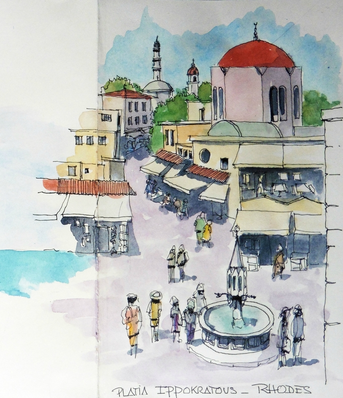 Place Hippocrate-Rhodes
