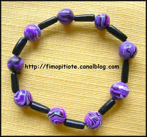 Bracelet violet