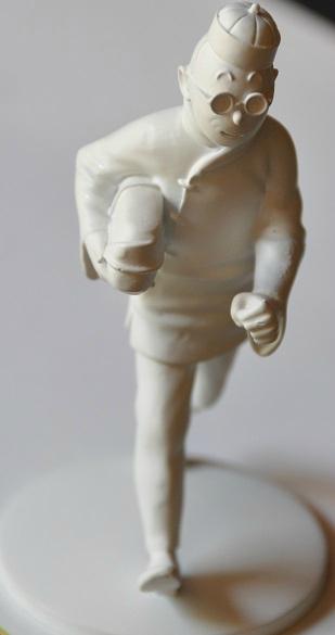 Figurine Tintin Lotus Bleu