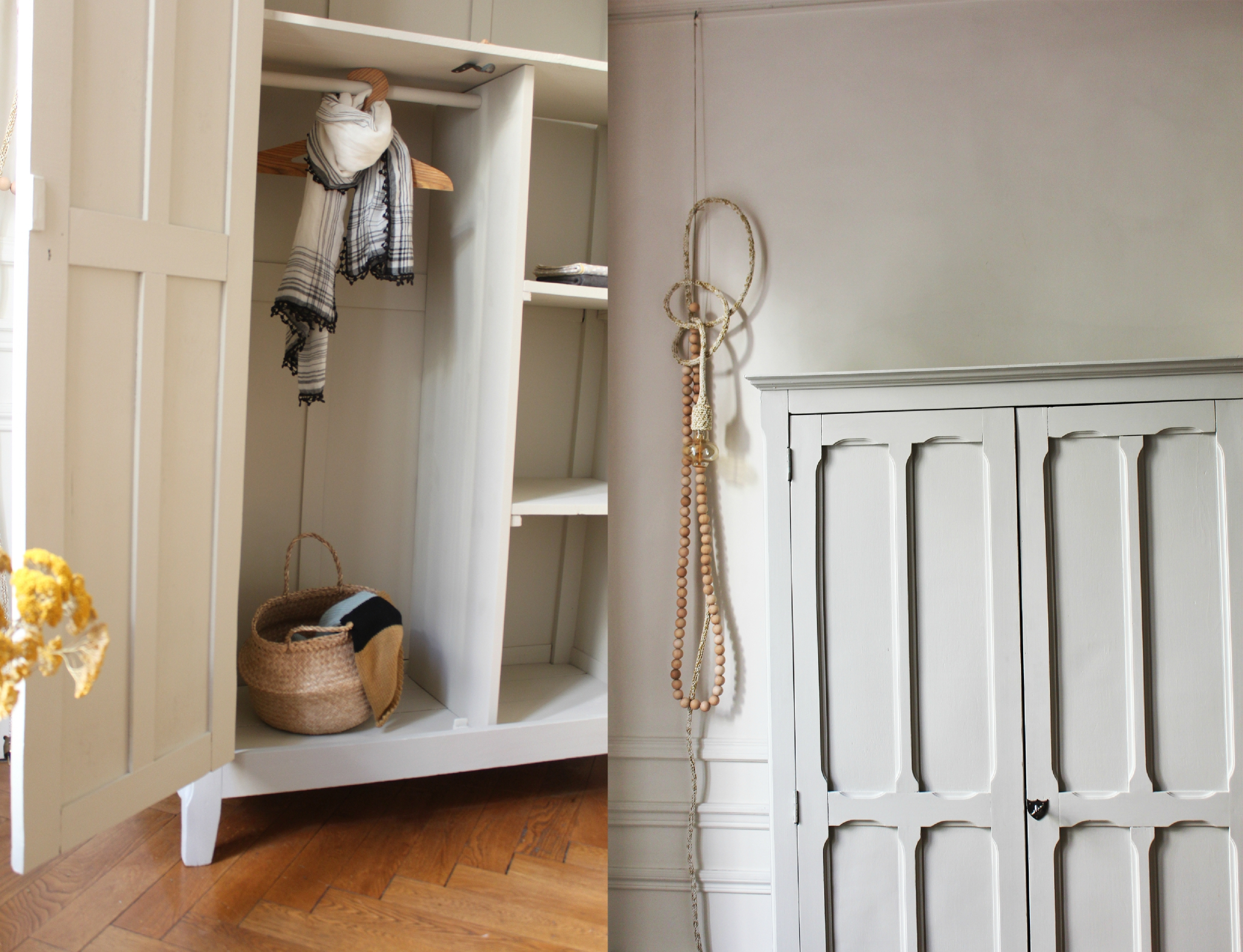 Armoire parisienne vintage trendy little for Acheter un congelateur armoire