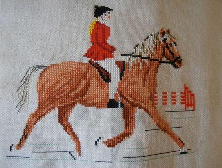 broderie équitation
