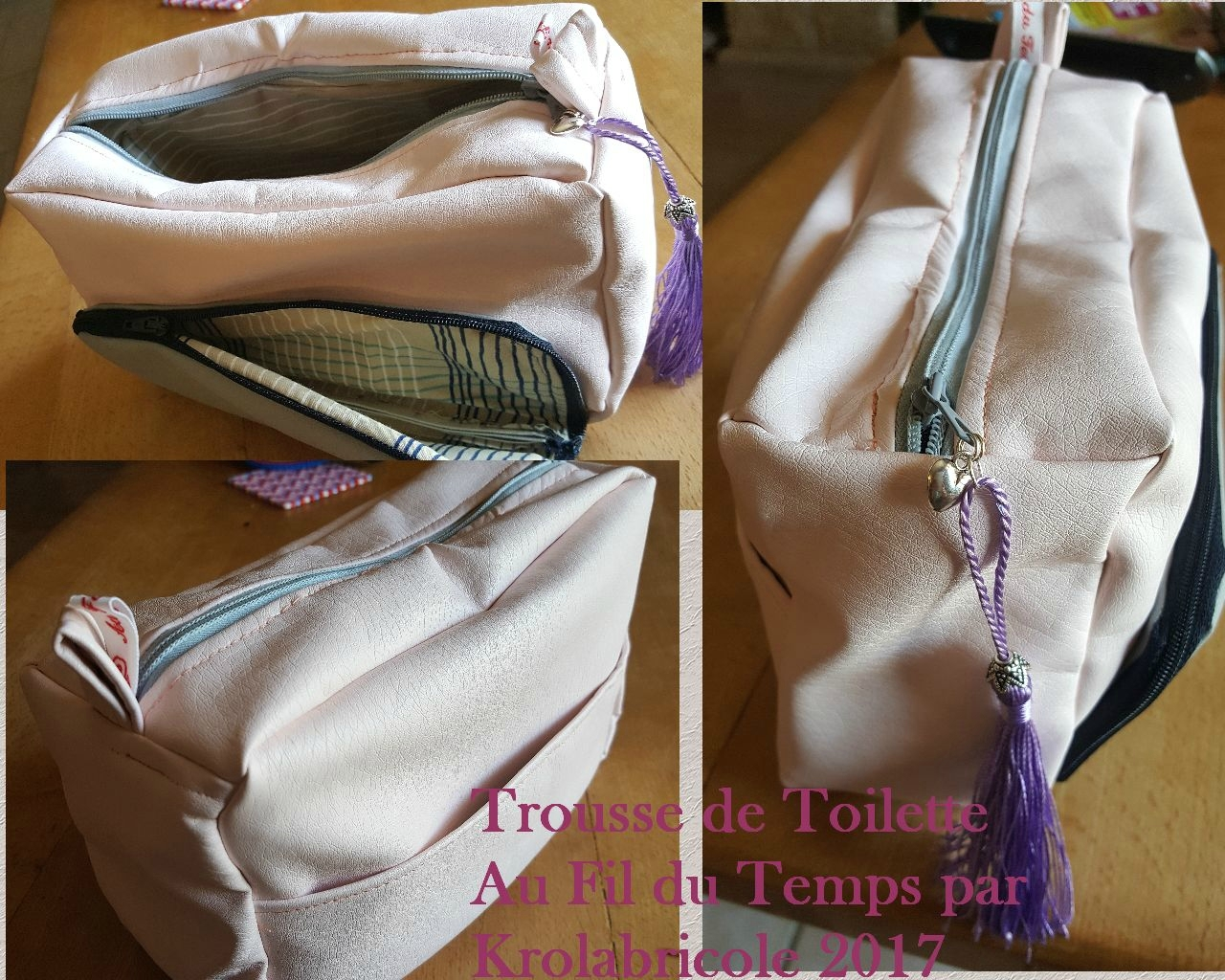 Trousse de Toilette DIY