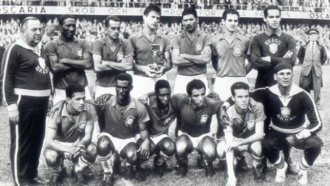 1958 Brésil vainqueur 1
