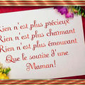 Les roses blanches ......... pour toi maman