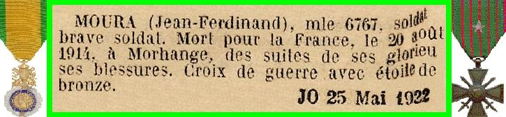 MOURA J F