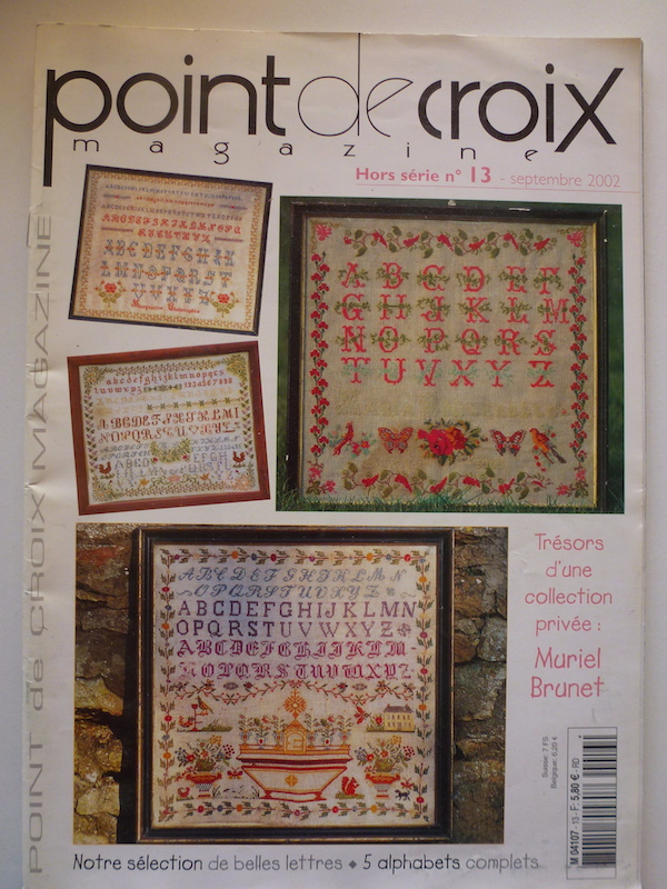POINT DE CROIX MAGAZINE MURIEL BRUNET HS 13 SEPT 2002
