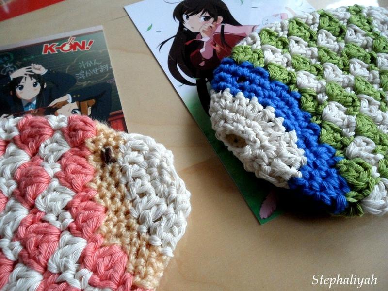 Poissons éponges crochet - 4