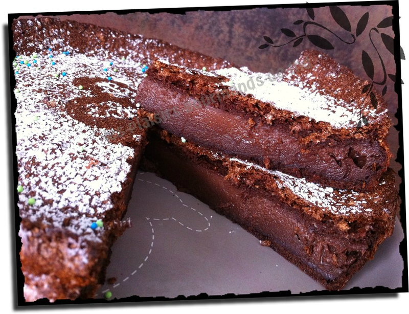 Gâteau magique au chocolat 13 avril (2b)