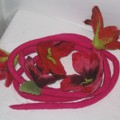 guirlande fleurs feutrées 2