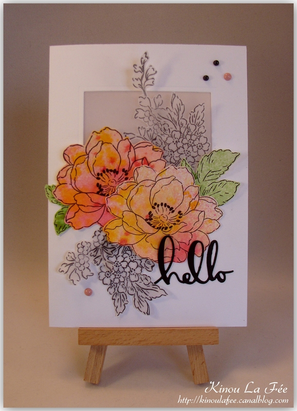 Carte Fleurs et Calque 1
