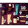 Mon top 10 produits de beauté