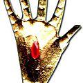 Amulette la main de gloire du maitre marabout