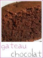 Gateau chocolat - index