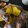 Brioche au potimarron et cannelle Pumkin cinnamon rolls