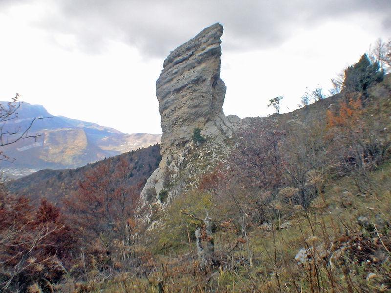 L'Ouillon 1501 m de le Gua - Proveyzieux – Chartreuse