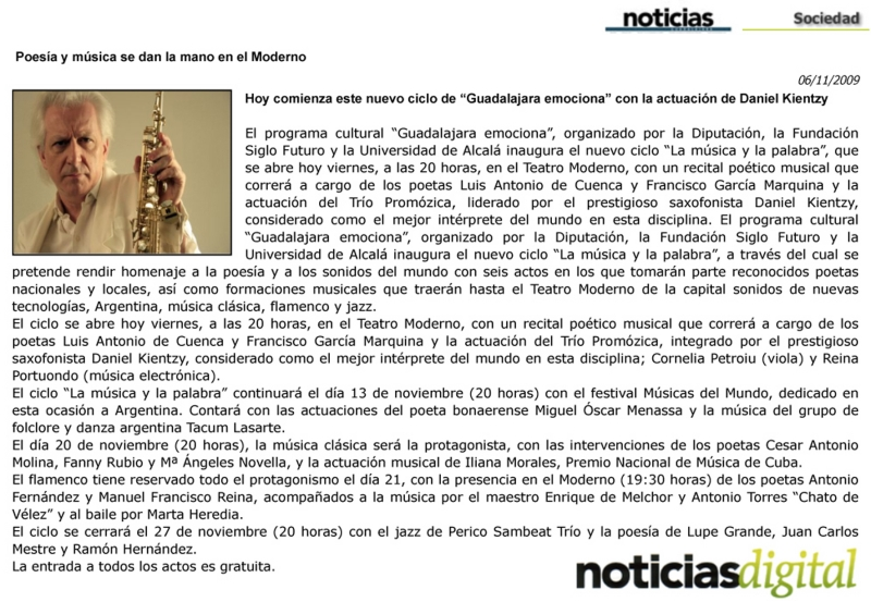 Noticias Guadalajara 06/11/09