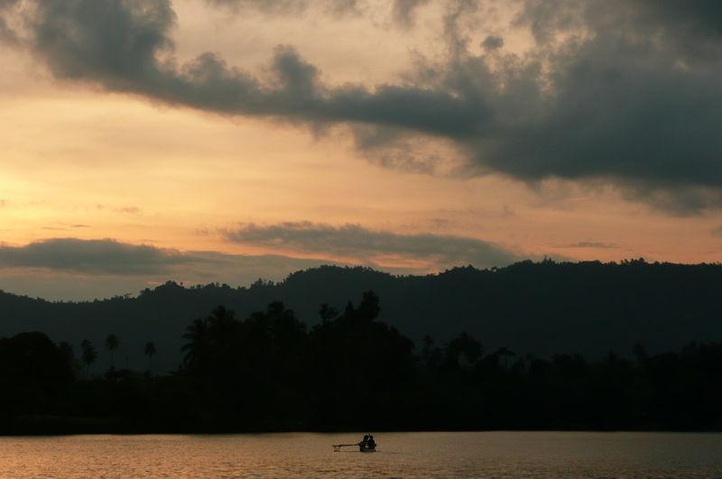 Coucher de soleil a Madang