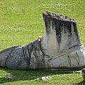 sculpture pied