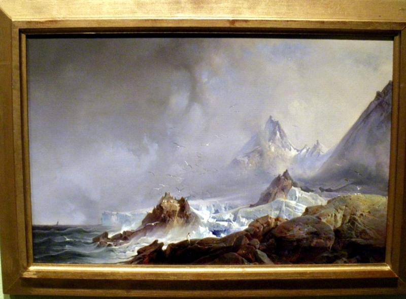 Franz Wilhelm Schiertz Landskap fra Norskeøyene på Spitsbergen