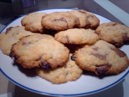 cookies choc brun et blanc