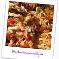 Jambalaya de poulet et crevettes