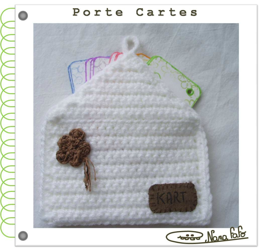 porte cartes au crochet tuto photo de 0 les tutos au crochet nana fafo crochet et petites. Black Bedroom Furniture Sets. Home Design Ideas