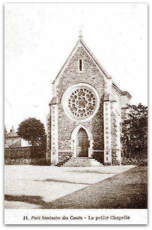 Nantes Les Couets chapelle z
